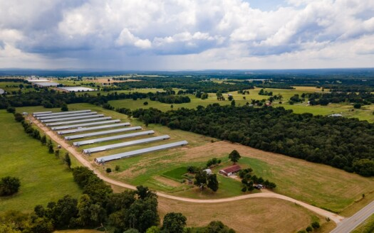 1 - Adair County, OK Poultry Farm, Land, Home For Sale