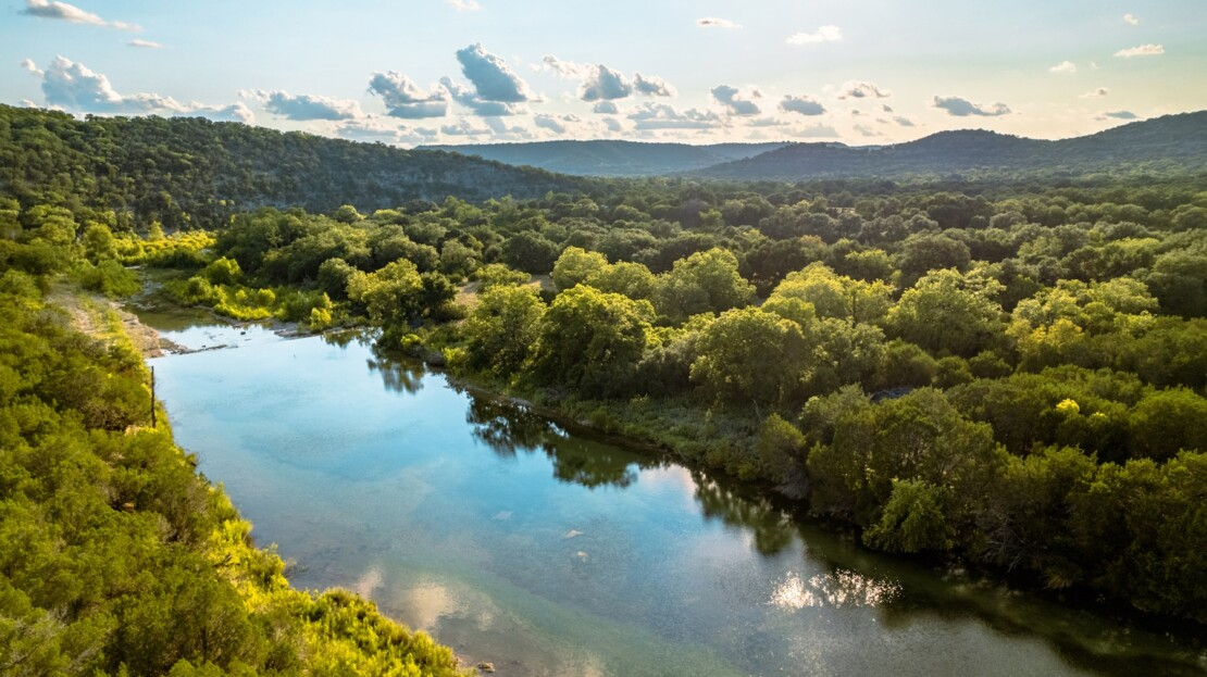 1 - Real County, TX Riverfront Ranch Hunting Land For Sale