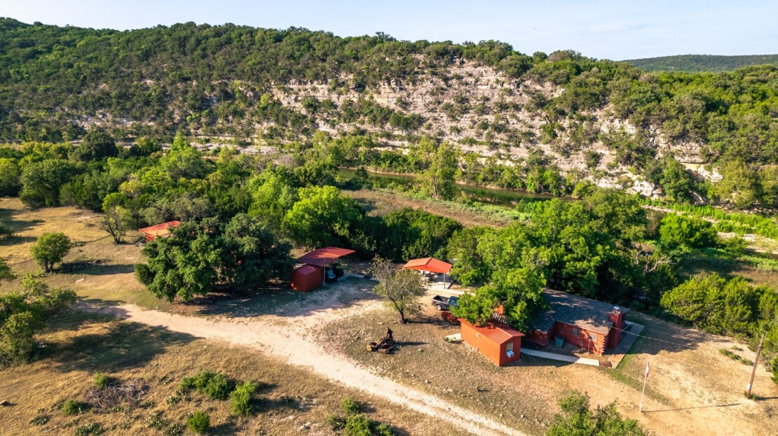 10 - Real County, TX Riverfront Ranch Hunting Land For Sale