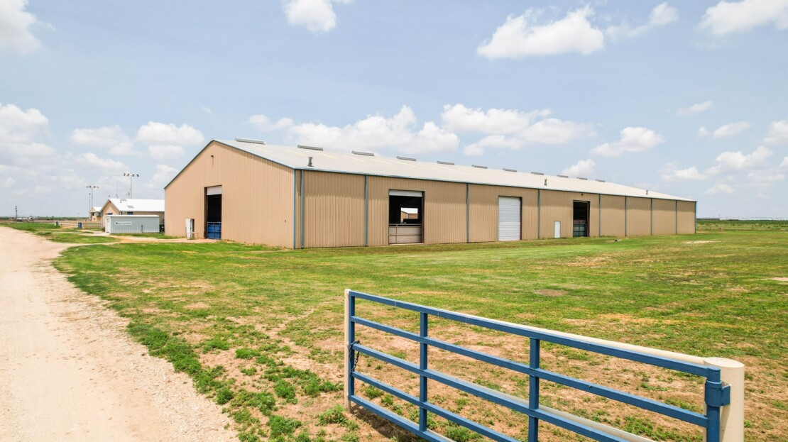 11 - Parmer County, TX Equine Training Facility and Land For Sale