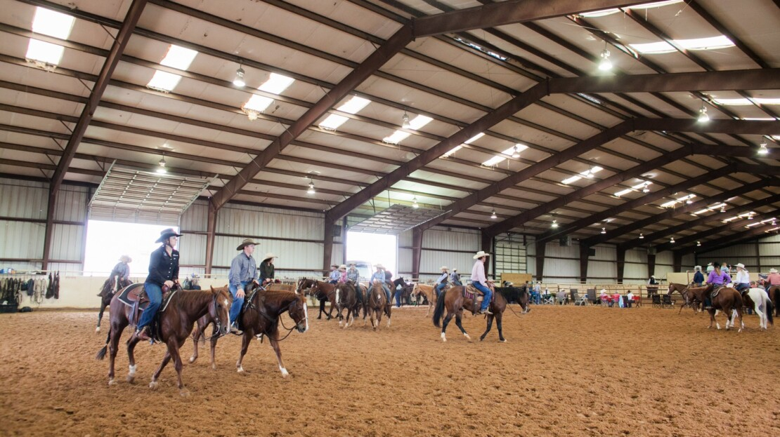 15 - Parmer County, TX Equine Training Facility and Land For Sale