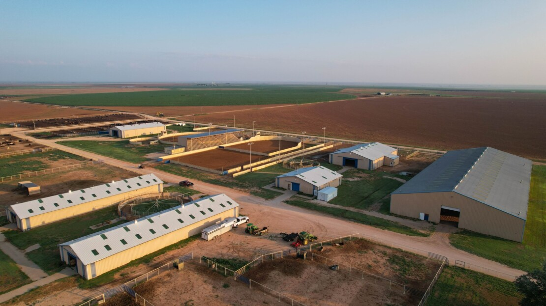 2 - Parmer County, TX Equine Training Facility and Land For Sale