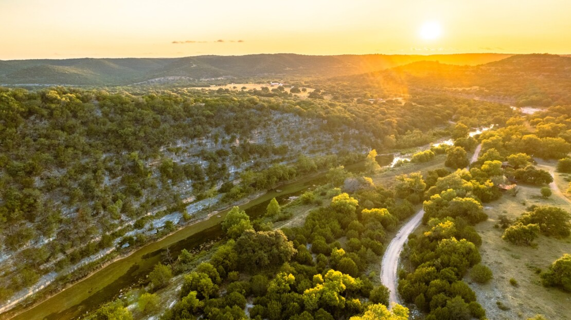 3 - Real County, TX Riverfront Ranch Hunting Land For Sale