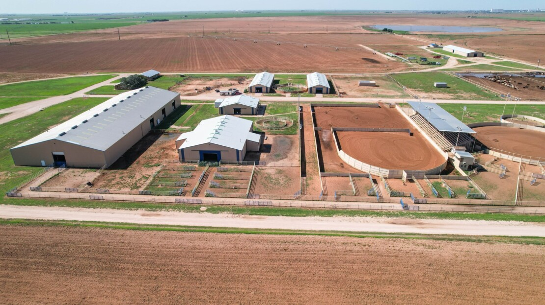 4 - Parmer County, TX Equine Training Facility and Land For Sale