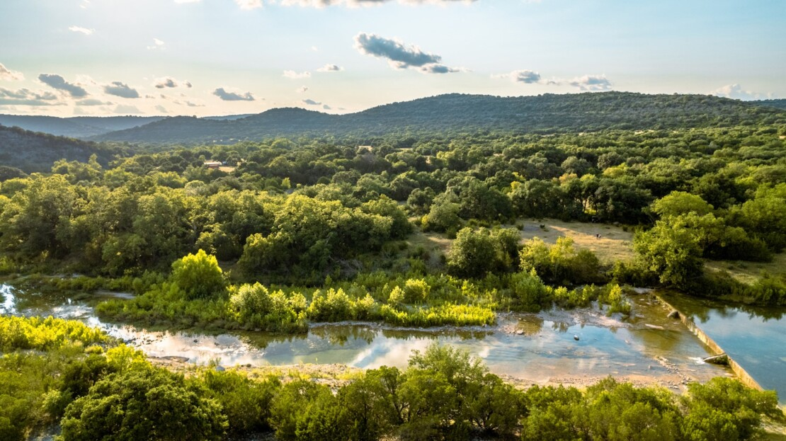7 - Real County, TX Riverfront Ranch Hunting Land For Sale